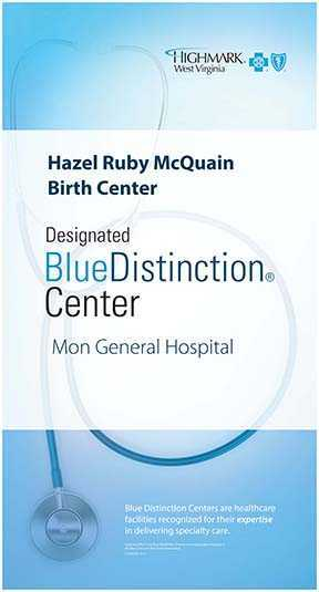Birth Center Blue Distinction Award