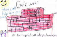 Hospital Get Well Soon Card